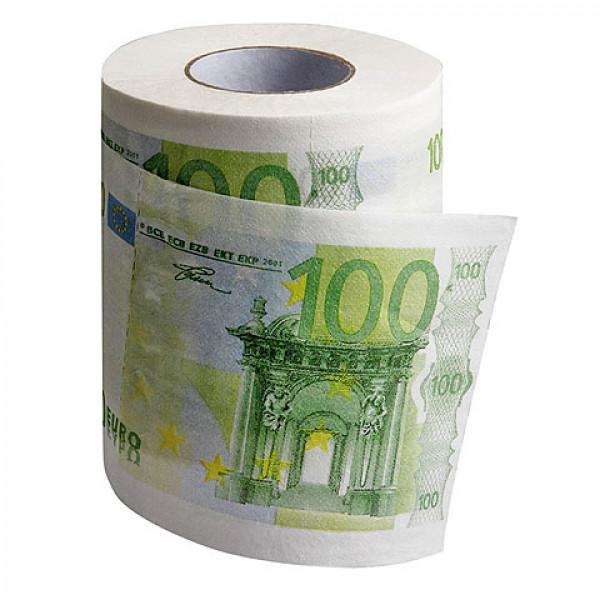 100 eurós WC papír
