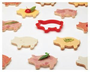 Party Animals - szendvics forma