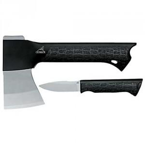 GATOR COMBO fejsze, a nyélben rögzíthető késsel