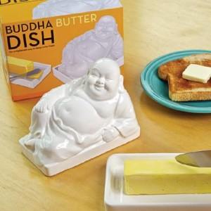 Buddha vajtartó, sajttartó, rejtekhely tároló