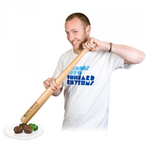 Baseball ütő borsőrlő