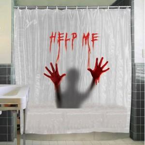 Véres zuhanyfüggöny