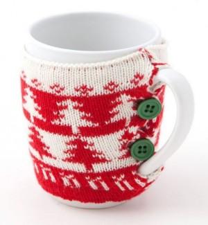 Karácsonyi ruhás bögre