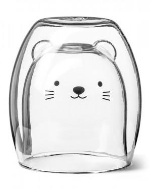 Duplafalú cicás pohár