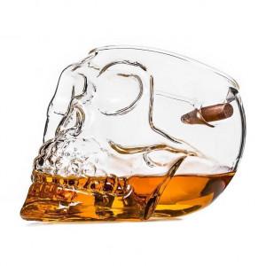 Golyóálló koponya pohár