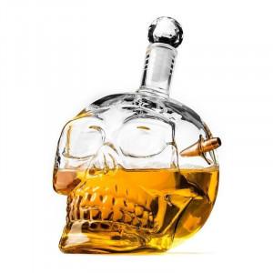 Golyóálló koponya üveg