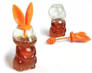 Hunny Bunny - nyusziméz mézcsurgatóval