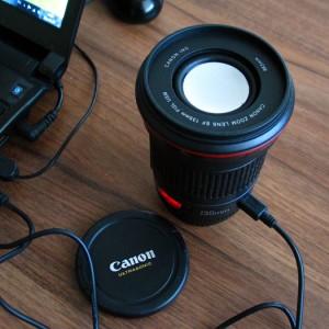 Objektív USB hangszóró (Caniam 135mm)