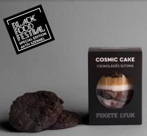 COSMIC CAKE Fekete Lyuk Csokoládés Sütimix (aktív szénnel)