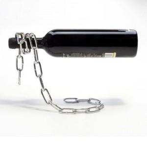 Mágikus lebegő láncos bortartó
