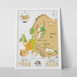 Kaparós Európa térkép (Új!)