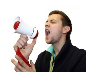 Megafon hangosbeszélő