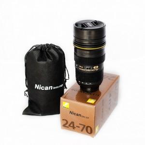 Objektív bögre (Nican 24-70 mm) termosz