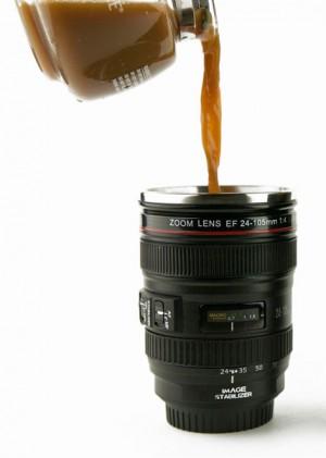 Objektív bögre (24-105 mm) termosz