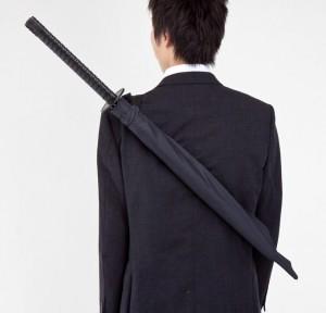 Szamuráj esernyő