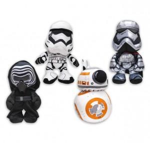 Kylo Ren, Phasma kapitány, Stormtrooper & BB-8 plüss