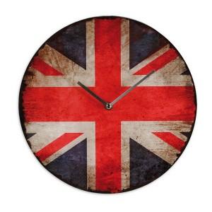 Union Jack vintage falióra UK