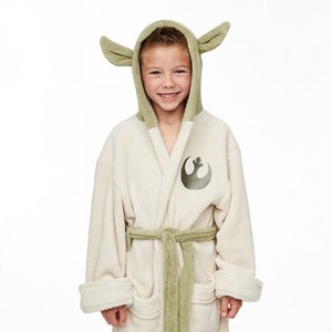 Yoda gyerek fürdőköntös