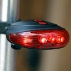 Lézeres LED-es bicikli világítás