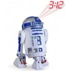 R2D2 kivetítős óra