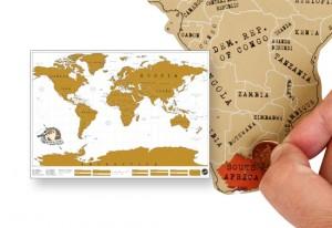 Kaparós térkép világutazóknak (A1 és A0)