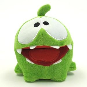 Cut the Rope plüss éhes