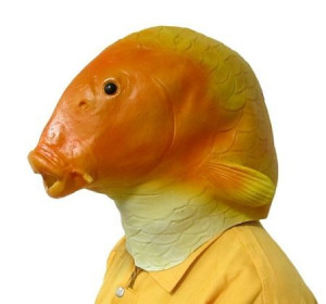 Aranyhal maszk