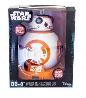 BB-8 kivetítős ébresztőóra