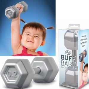 Súlyzó csörgő (Buff Baby)