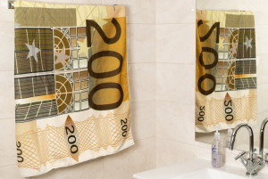 200 Euros Törölköző