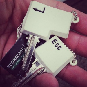 Enter és Esc  kulcsjelölő