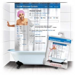Facebook zuhanyfüggöny