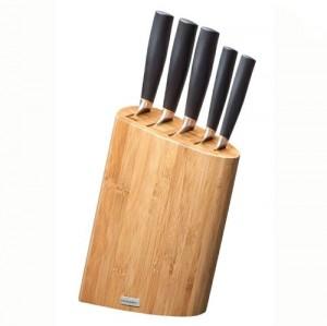 FUZION Bambusz Késblokk 5 késsel