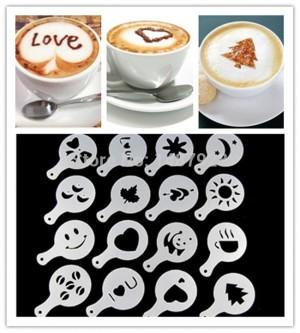 Latte Art - Barista sablon