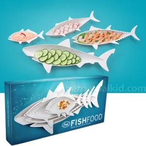 FishFood haltál szervírozó szett