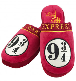 Harry Potter 9 3/4 Hogwarts Express papucs