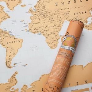 Kaparós térkép világutazóknak (A1) és (A0)