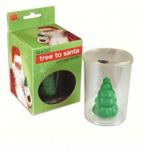 Mágikus karácsonyfa, transzformer télapó