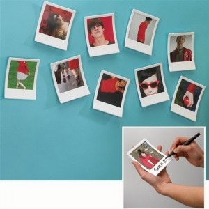 Instagram polaroid képkeret