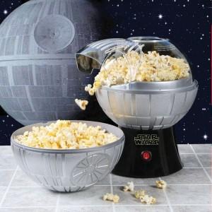 Halálcsillag popcorn készítő