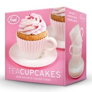 Teáscsésze szett muffin sütőforma