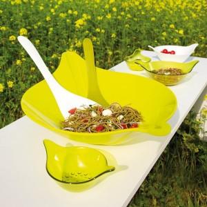 Leaf designer salátástál