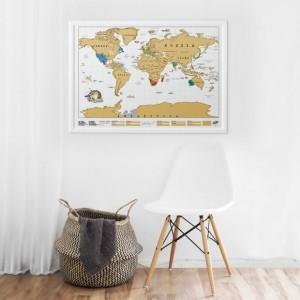 Kaparós térkép kerettel A1