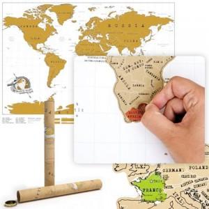 Kaparós térkép világutazóknak (A3)