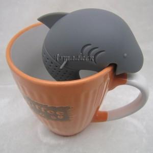 Pohárba merített cápa teafilter