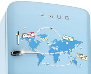 Utazástervező hűtőmágnes (58 db szett)