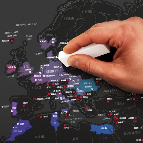 kaparós térkép Fővárosok kaparós térkép | pazar cuccok shop kaparós térkép