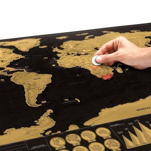 kaparós térkép Kaparós térkép világutazóknak deluxe | pazar cuccok shop kaparós térkép