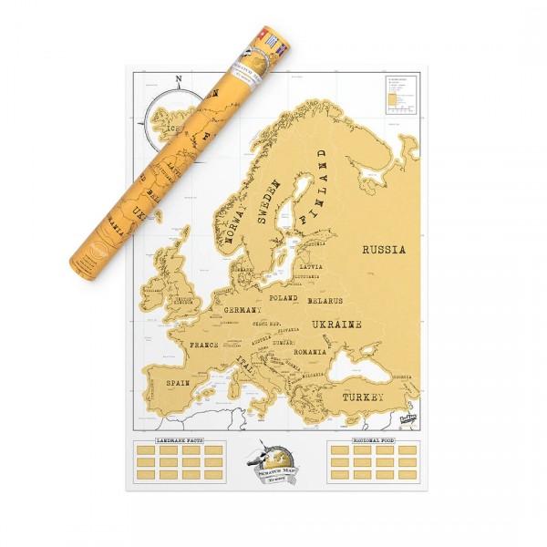 kaparós európa térkép Kaparós Európa térkép | pazar cuccok shop kaparós európa térkép